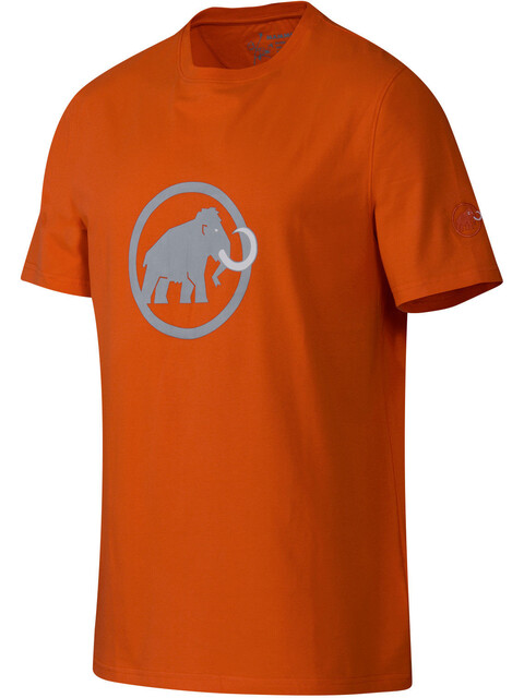 Mammut Logo T-Shirt Men dark orange-marine